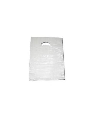 Bolsa Asa Troquelada Blanca Standard 25 x 35
