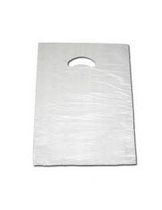 Bolsa Asa Troquelada Blanca Standard 30 x 40