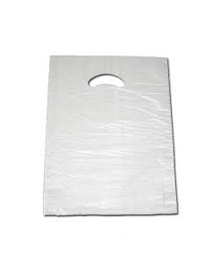 Bolsa Asa Troquelada Blanca Standard 35 x 50