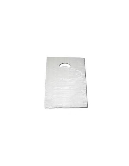 Bolsa Asa Troquelada Blanca Standard 40 x 50
