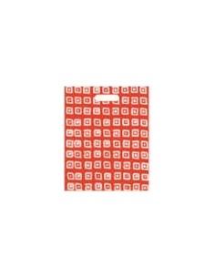 Bolsa Asa Troquel Impresa en Color Rojo de 30 x 40 cms