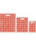 Bolsa Asa Troquel Impresa en Color Rojo de 40 x 50 cms