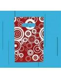 Bolsa Asa Troquel Impresa en Color Granate de 40 x 50 cms