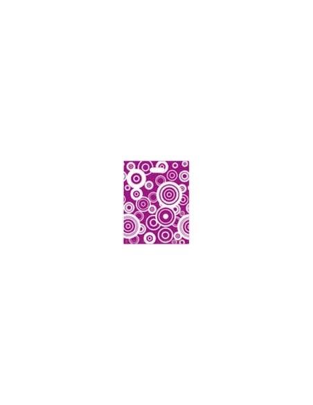 Bolsa Asa Troquel Impresa en Color Lila de 30 x 40 cms