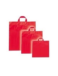 Bolsa Asa Lazo Color Rojo Standard 32x32+5 cms