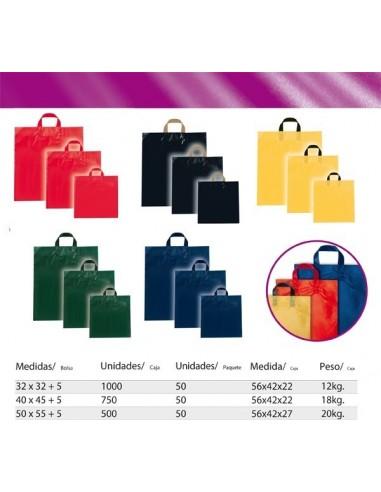 Bolsa Asa Lazo Color Rojo Standard 32x32+5