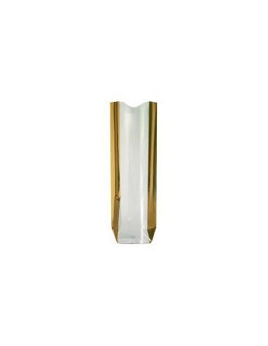 Bolsa Lingote de Oro Metalizada 10 x 22 Cms