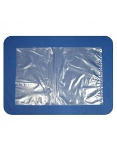 Bolsa de Plastico Transparente 12,5 x 25 cm