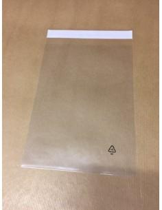 Bolsa de polipropileno con Solapa Adhesiva 17 X 24 cm