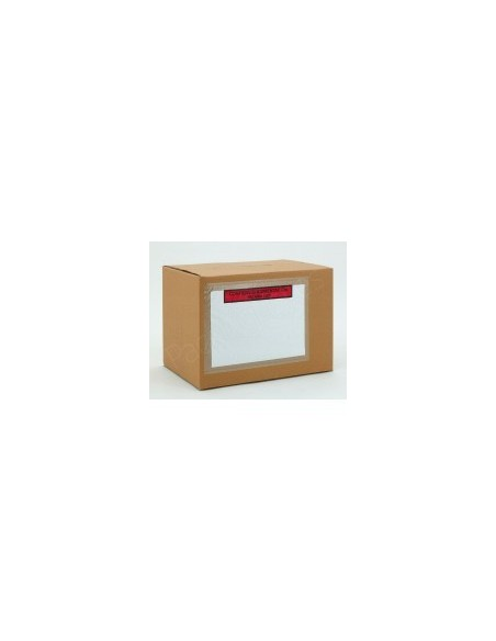 Bolsa Contiene Documentación-Packing List de 22,5 x 16,5 Cms