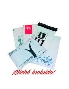 Bolsa para Envíos de 35 x 45 + 5 Solapa, Personalizada