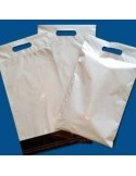 Bolsa para Envíos  con Asa de 25 x 22 + 8 + 5 Solapa, Personalizada