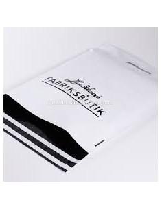 Bolsa para Envíos  con Asa de 30 x 37 + 8 + 5 Solapa, Personalizada