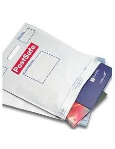 Bolsa para Envíos  con Asa de 50 x 52 + 8 + 5 Solapa, Serigrafiada