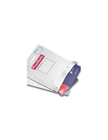 Bolsa Mensajería  con Asa de 50 x 52 + 8 + 5 Solapa, Personalizada