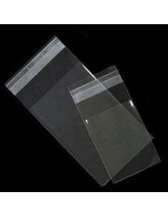 Bolsa Polipropileno con Solapa Adhesiva de 12 x 18 cm
