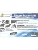 Máscara de Protección Multiusos Desechable (Covid-19)