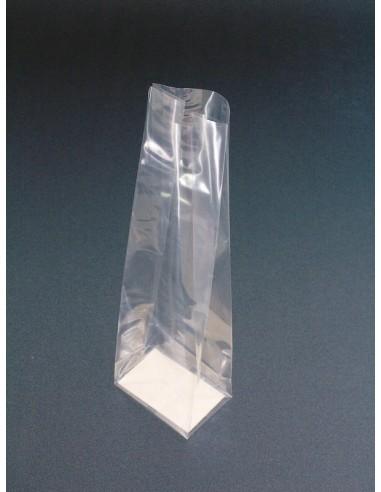 Bolsa de 6 + 4 x 20 cm con Fuelle y Cartón en la Base